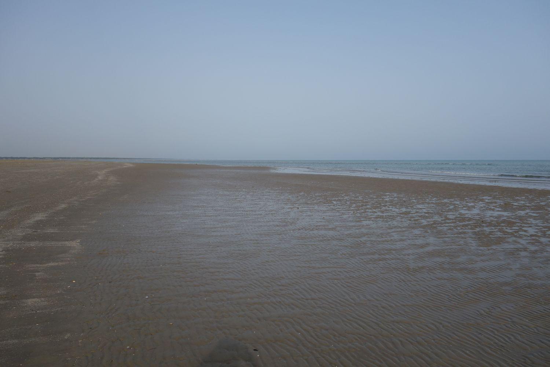 Der Strand von Caorle - sieht aus wie Sankt Peter Ording
