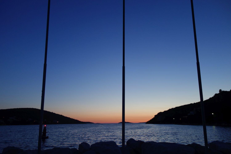 Sonnenuntergang-Drvenik