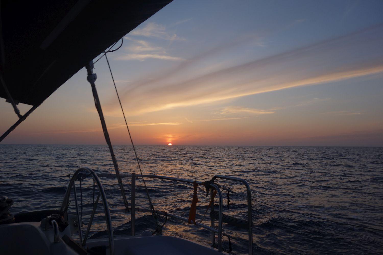 Sunset auf der Sundowner - irgendwo im Nirgendwo
