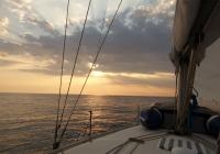 Noch ein kitschiges Sonnenuntergangs-Foto