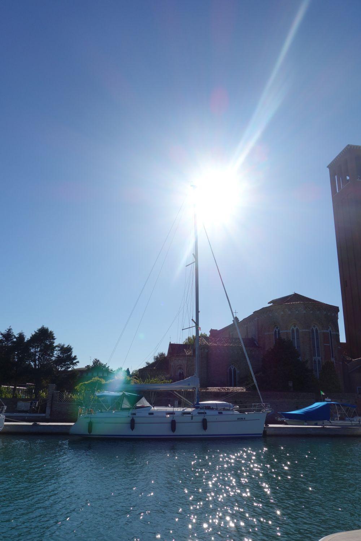 Die Sundowner in der Marina Sant Elena