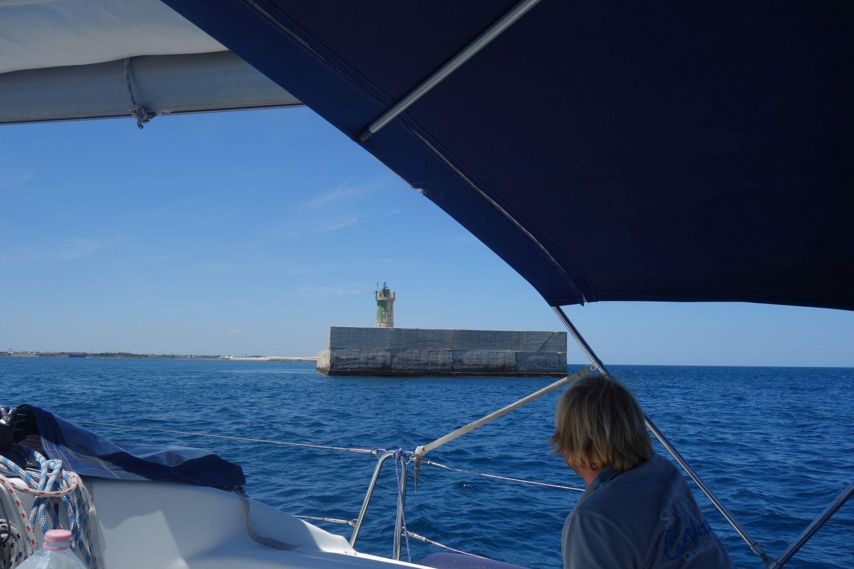 Hafeneinfahrt von Brindisi