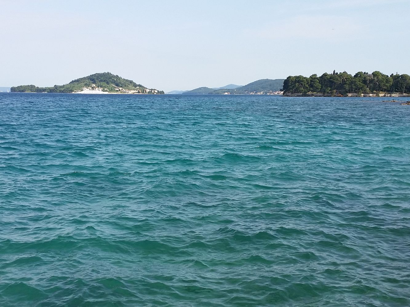 Inseln Galevac und Osljak