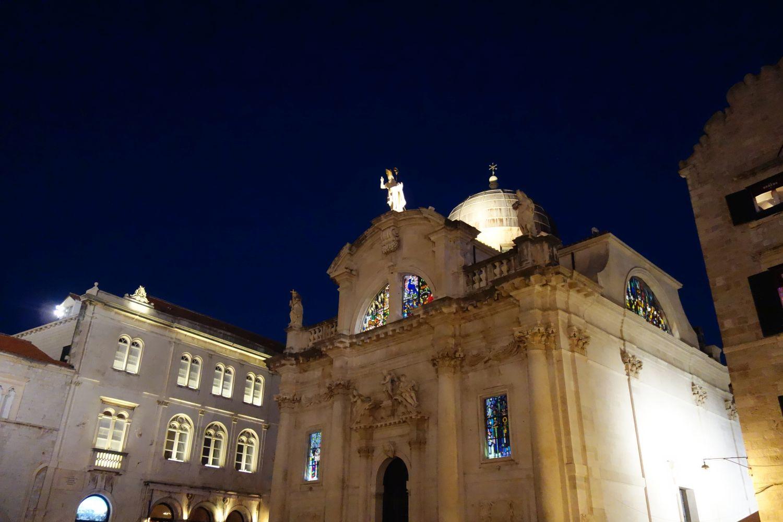 Dubrovnik bei Nacht