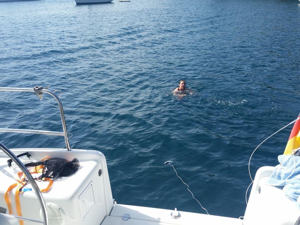 Schwimmen-auf-Kolocep