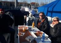 Pizza an Bord